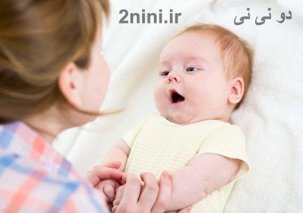 گفتگو با نوزاد